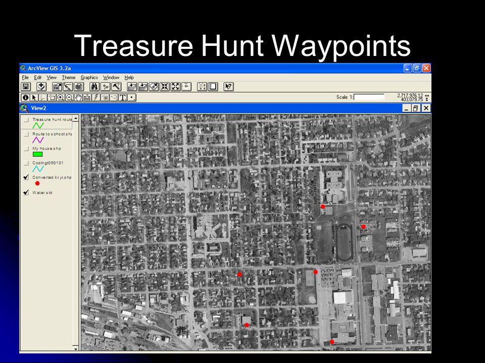 Treasure Hunt Waypoints