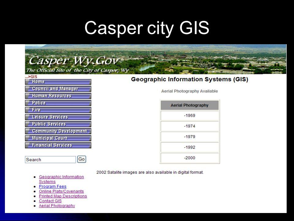Casper city GIS