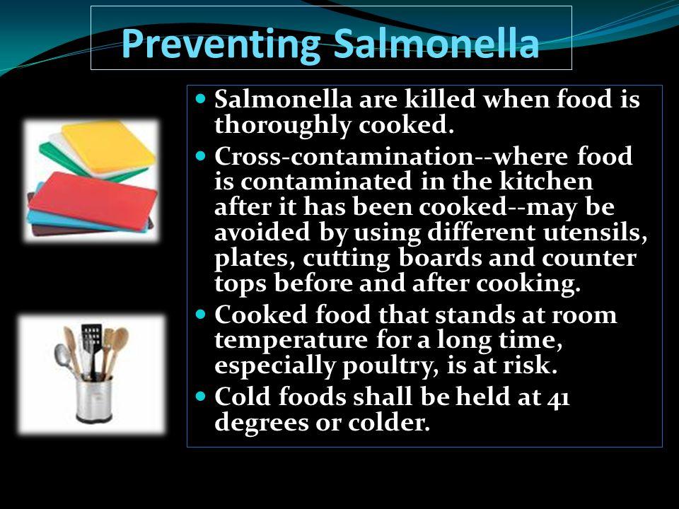 Preventing Salmonella