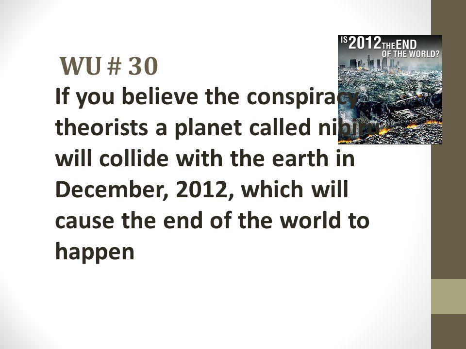 WU # 30