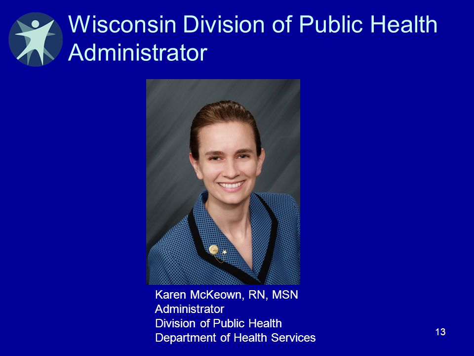Wisconsin Division of Public Health Administrator