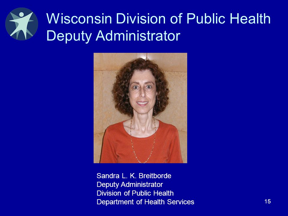 Wisconsin Division of Public Health Deputy Administrator