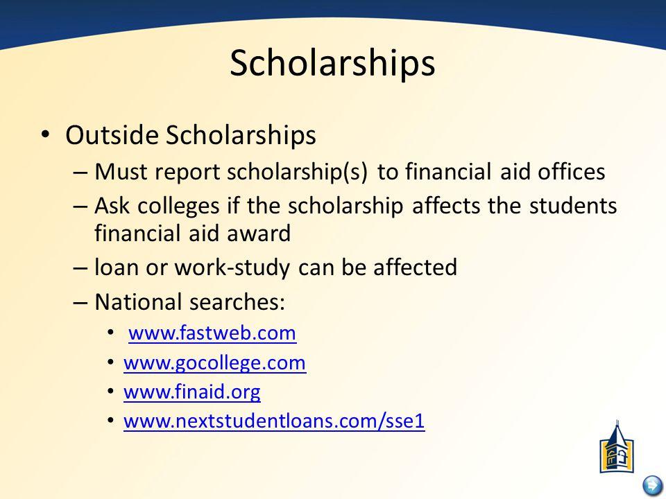 Scholarships Outside Scholarships