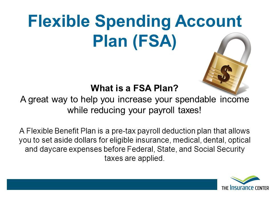 Flexible Spending Account Plan (FSA)