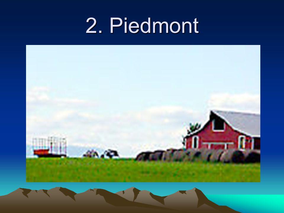 2. Piedmont
