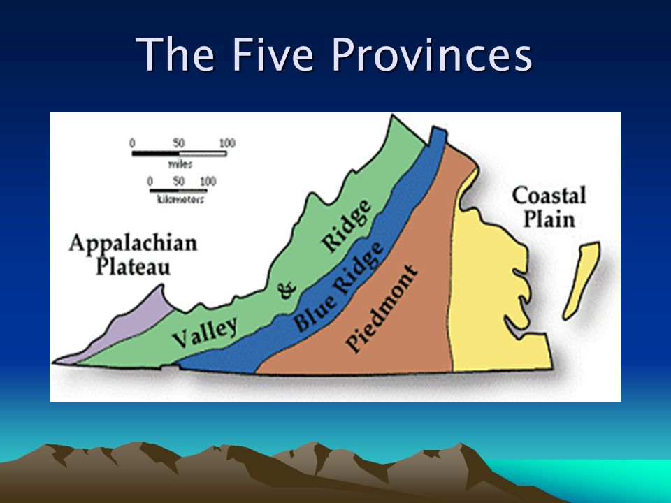 The Five Provinces