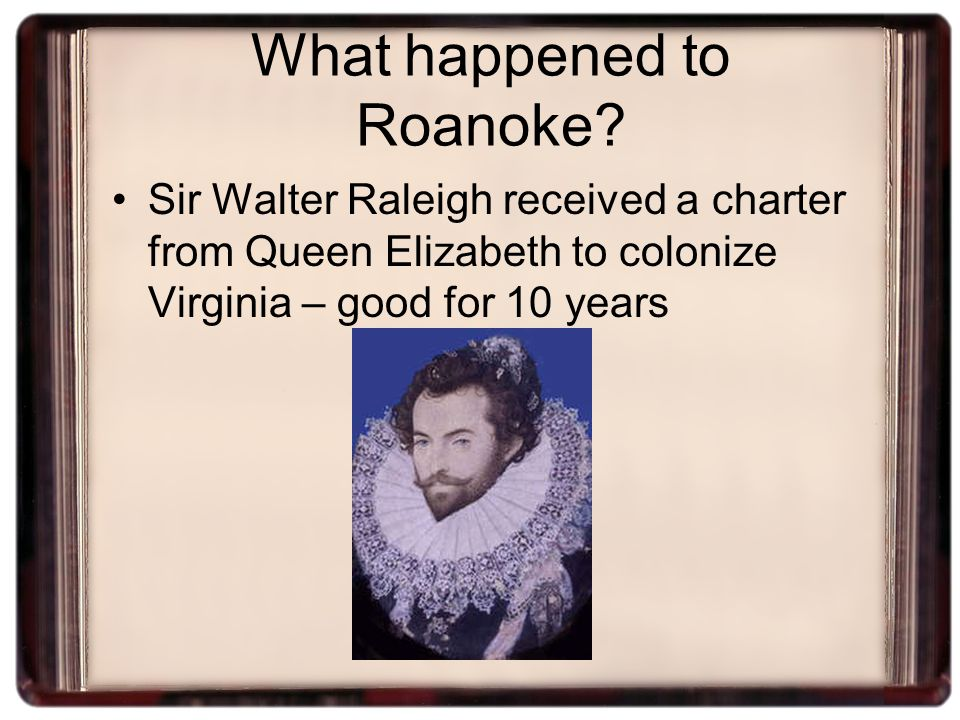 What happened to Roanoke