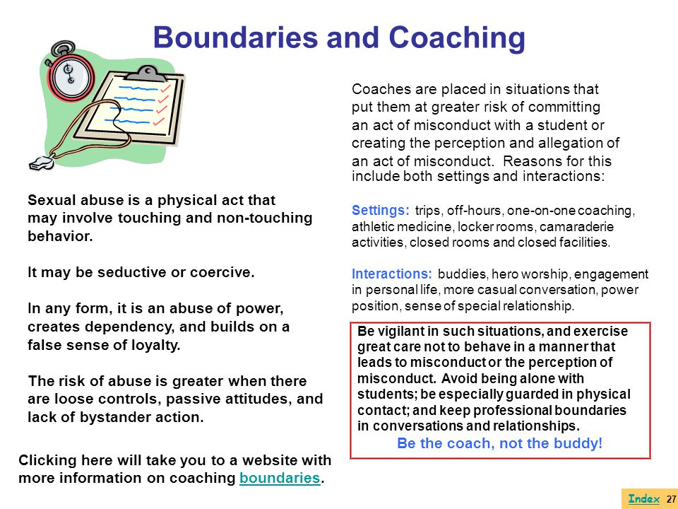 Boundaries and Coaching