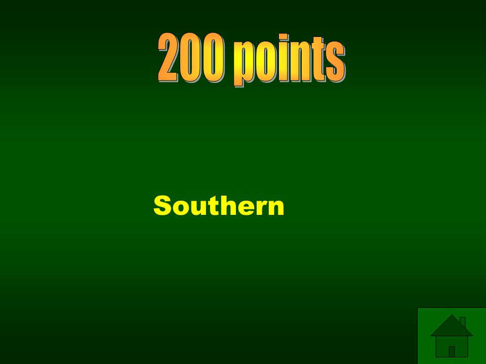200 points Southern