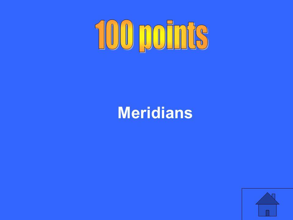 100 points Meridians
