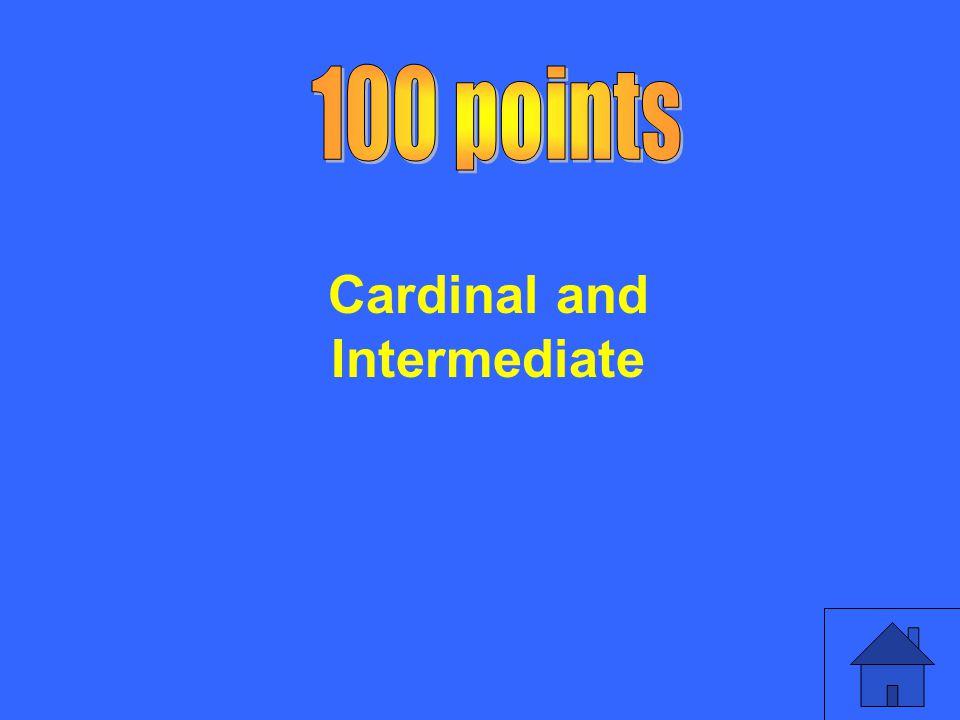 Cardinal and Intermediate