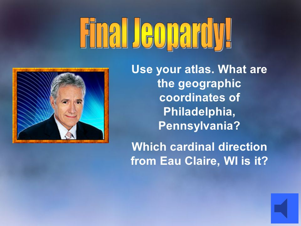 Which cardinal direction from Eau Claire, WI is it