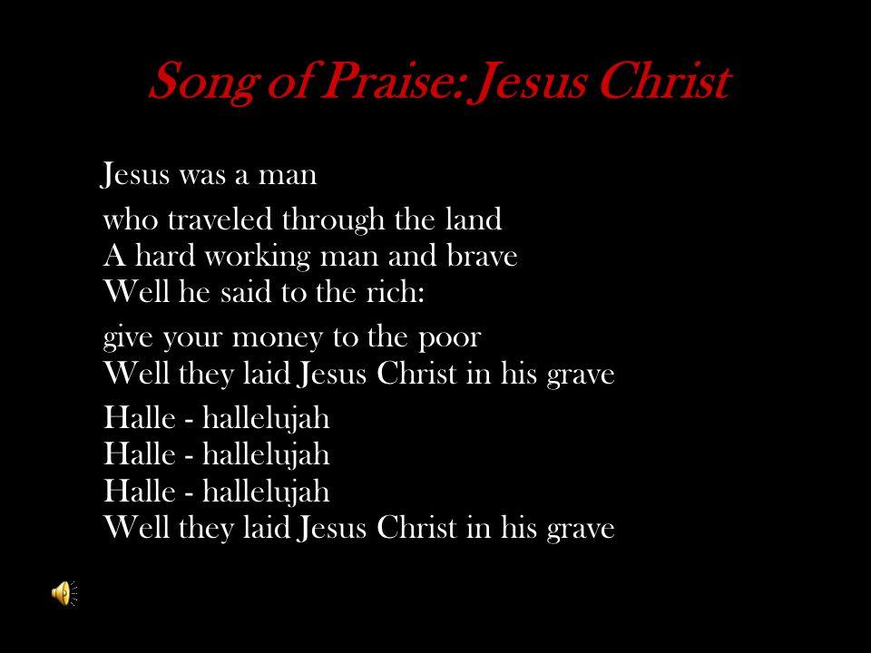 Song of Praise: Jesus Christ