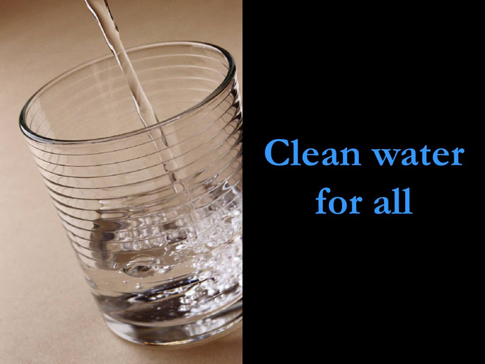 Clean water for all