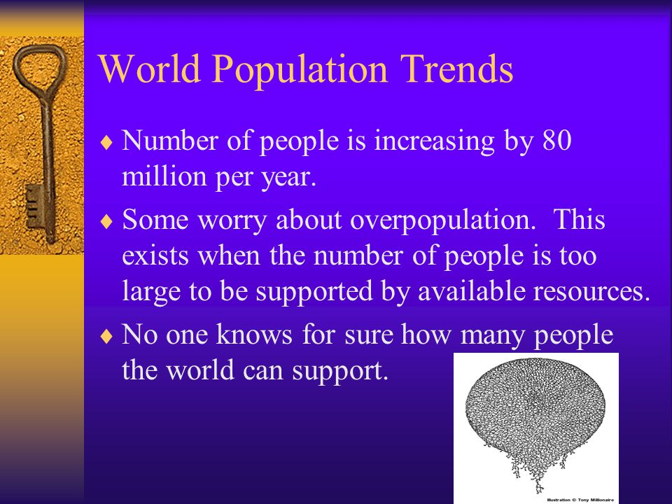 World Population Trends