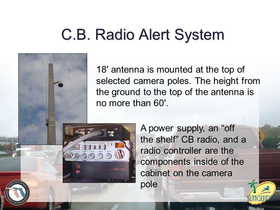 C.B. Radio Alert System