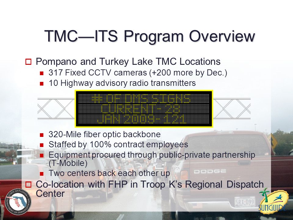 TMC—ITS Program Overview