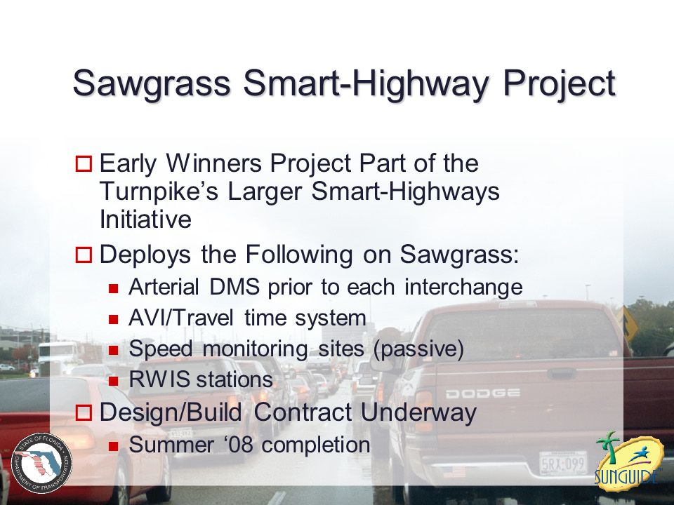 Sawgrass Smart-Highway Project