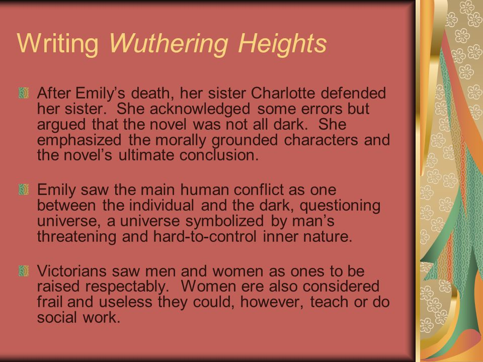 Writing Wuthering Heights