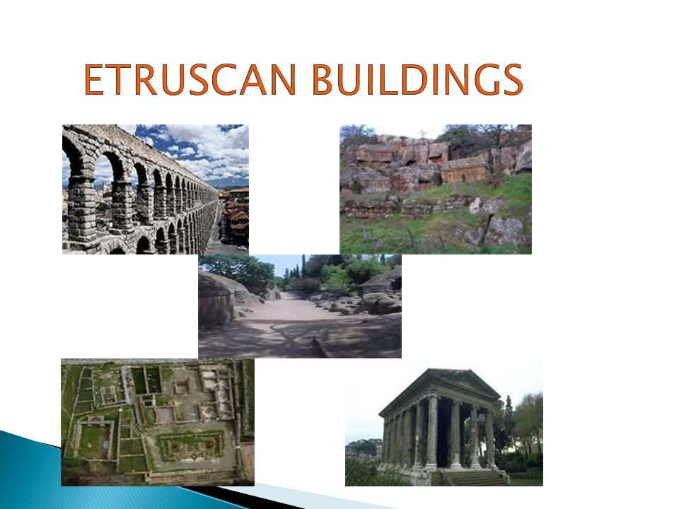 Etruscan buildings