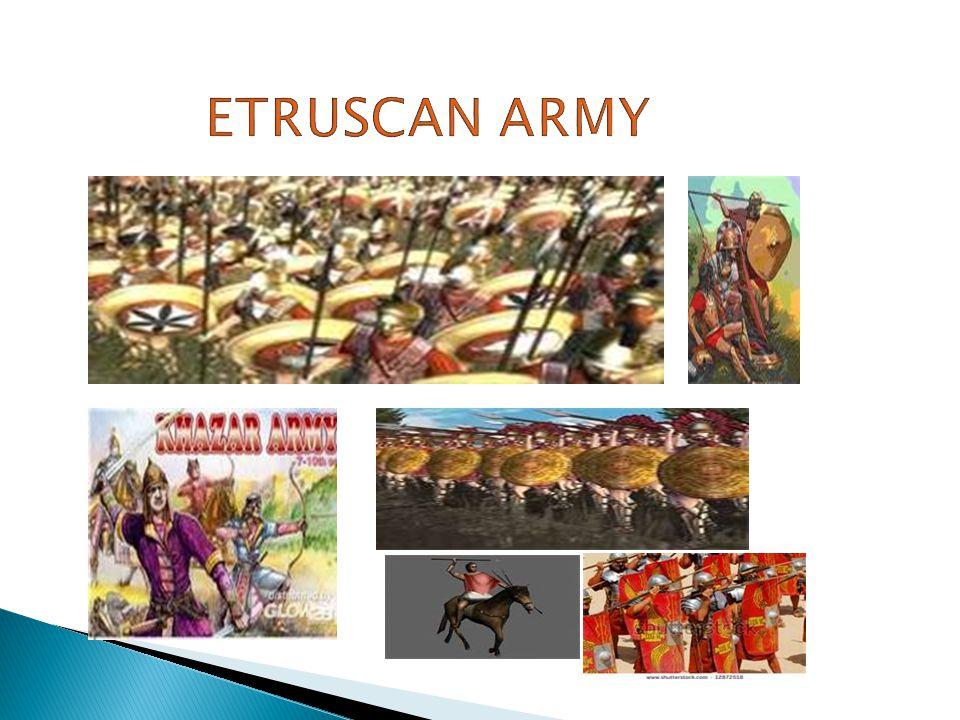 Etruscan army