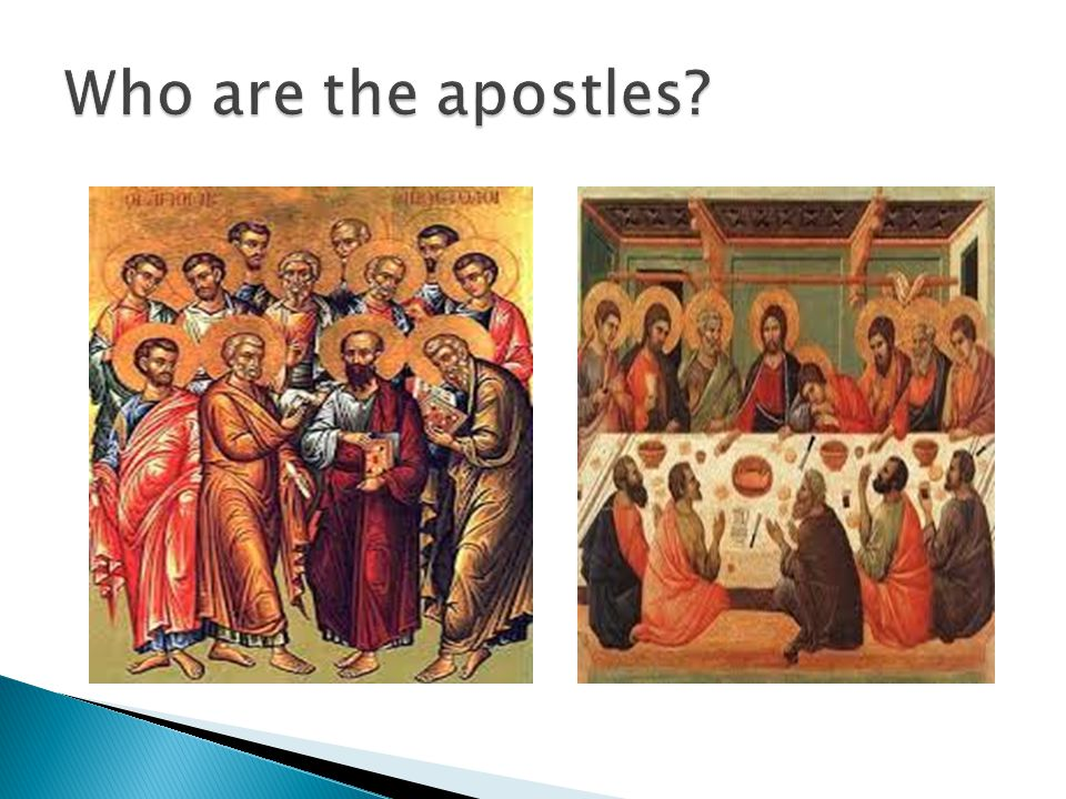 Who are the apostles