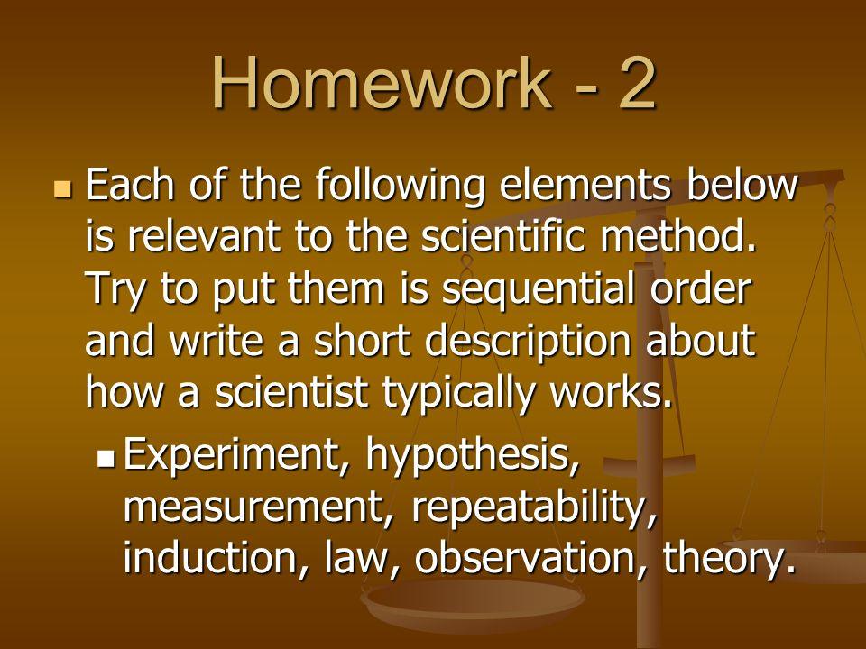 Homework - 2
