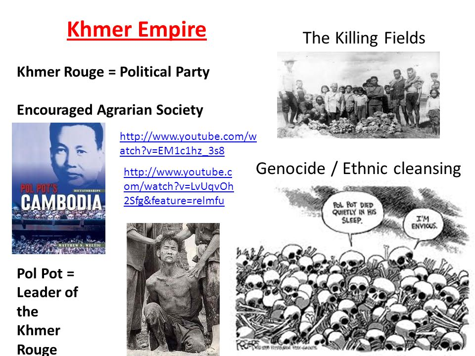 Genocide / Ethnic cleansing