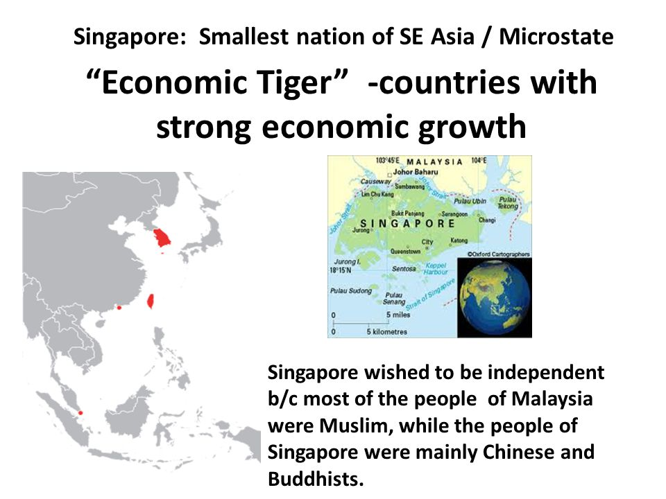 Economic Tiger -countries with strong economic growth