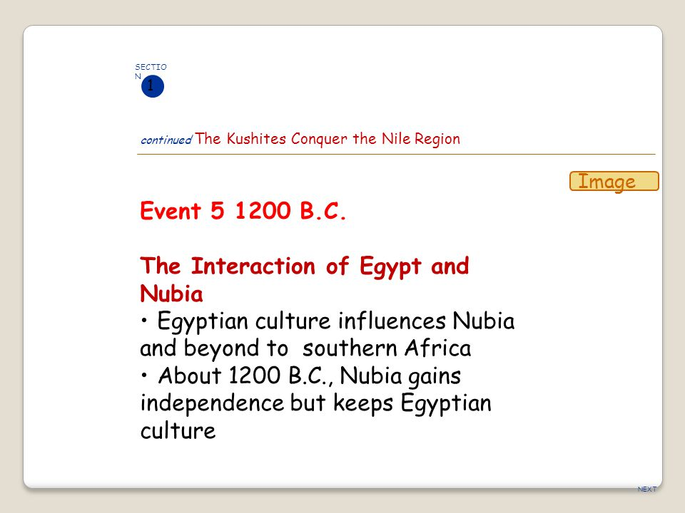 The Interaction of Egypt and Nubia