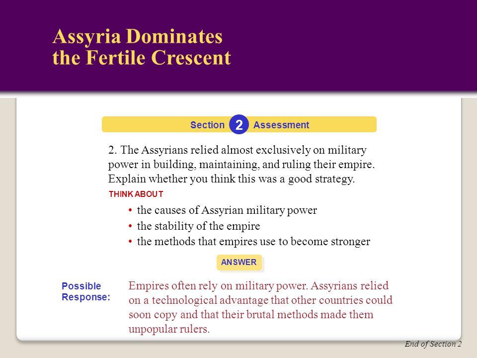 Assyria Dominates the Fertile Crescent 2