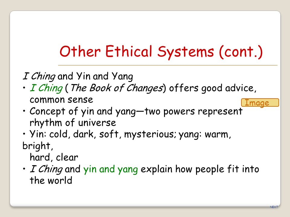 Other Ethical Systems (cont.)