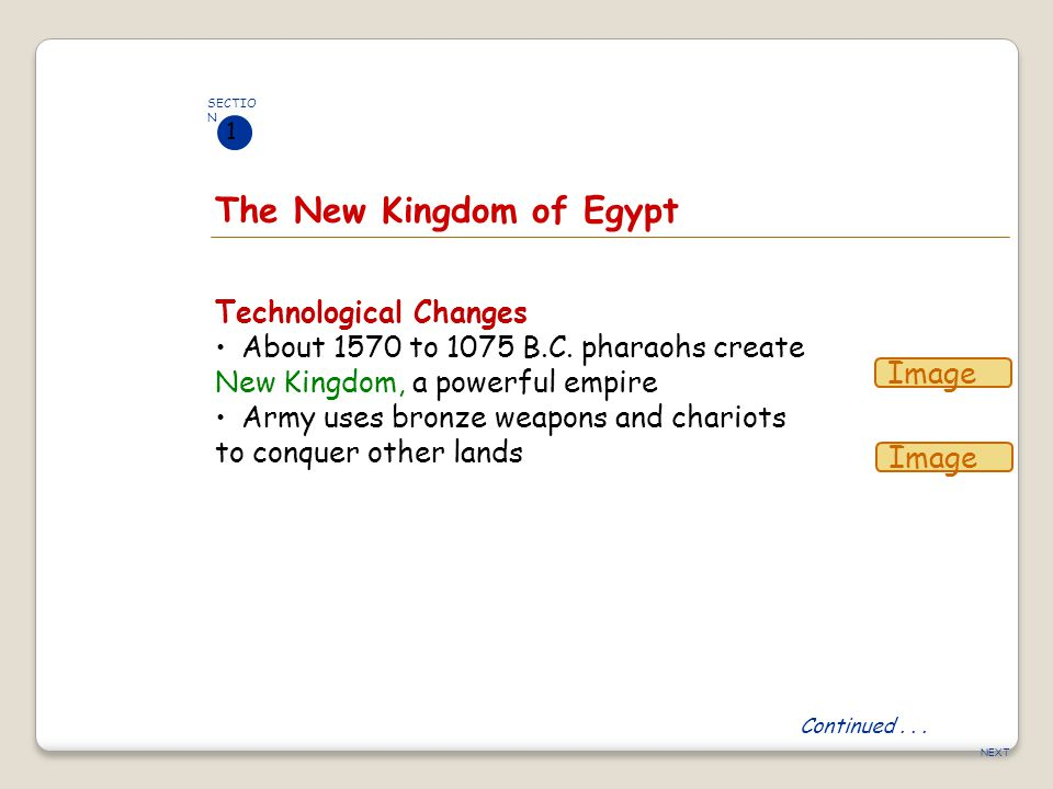 The New Kingdom of Egypt