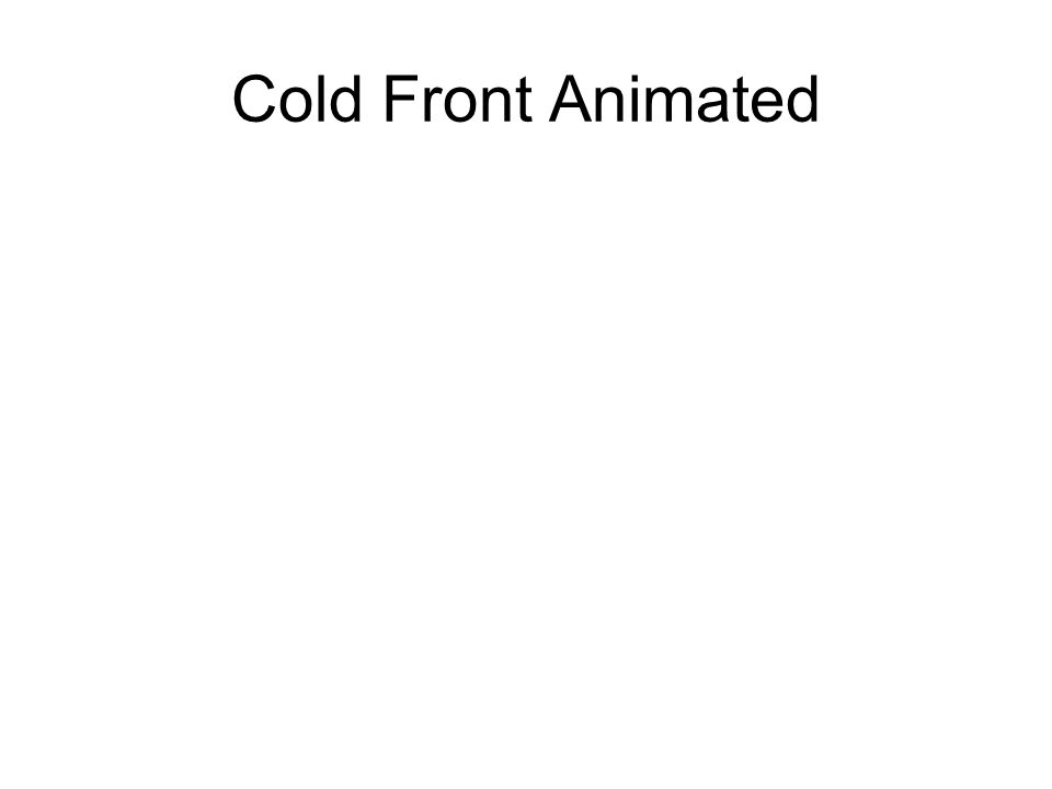 Cold Front Animated