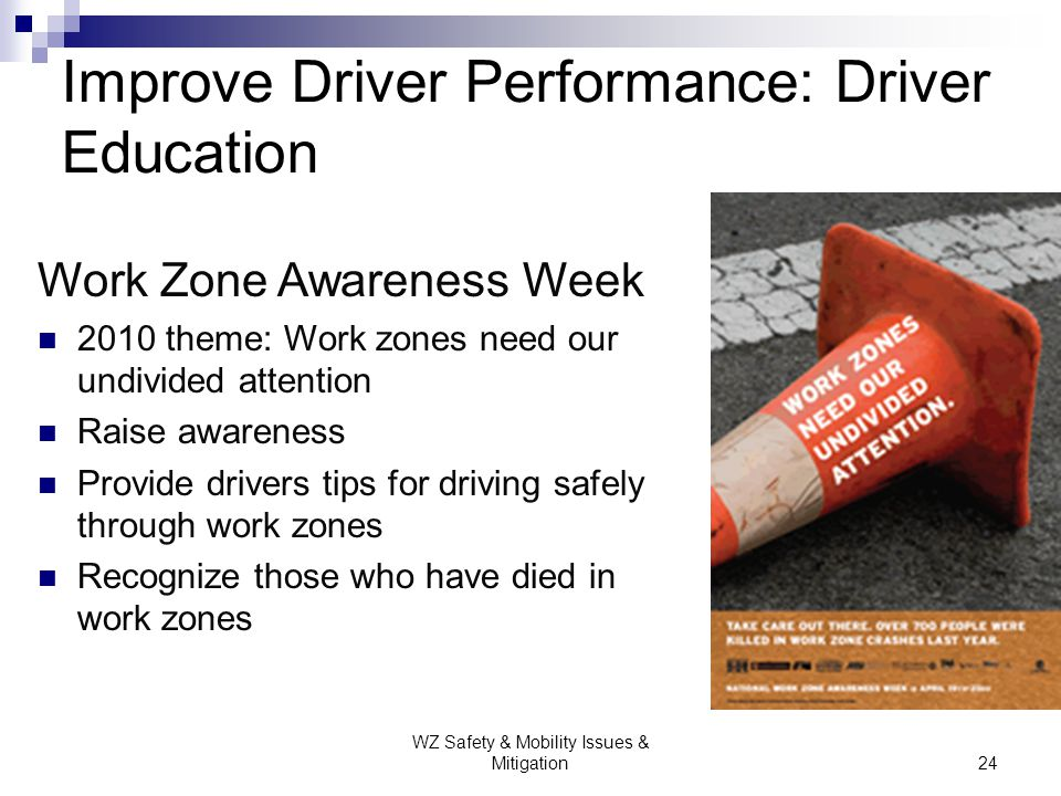 Improve Driver Performance: Driver Education