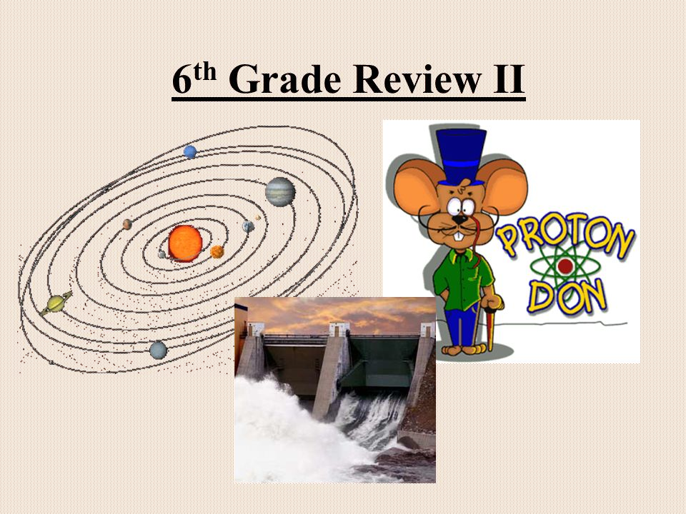 6th Grade Review II