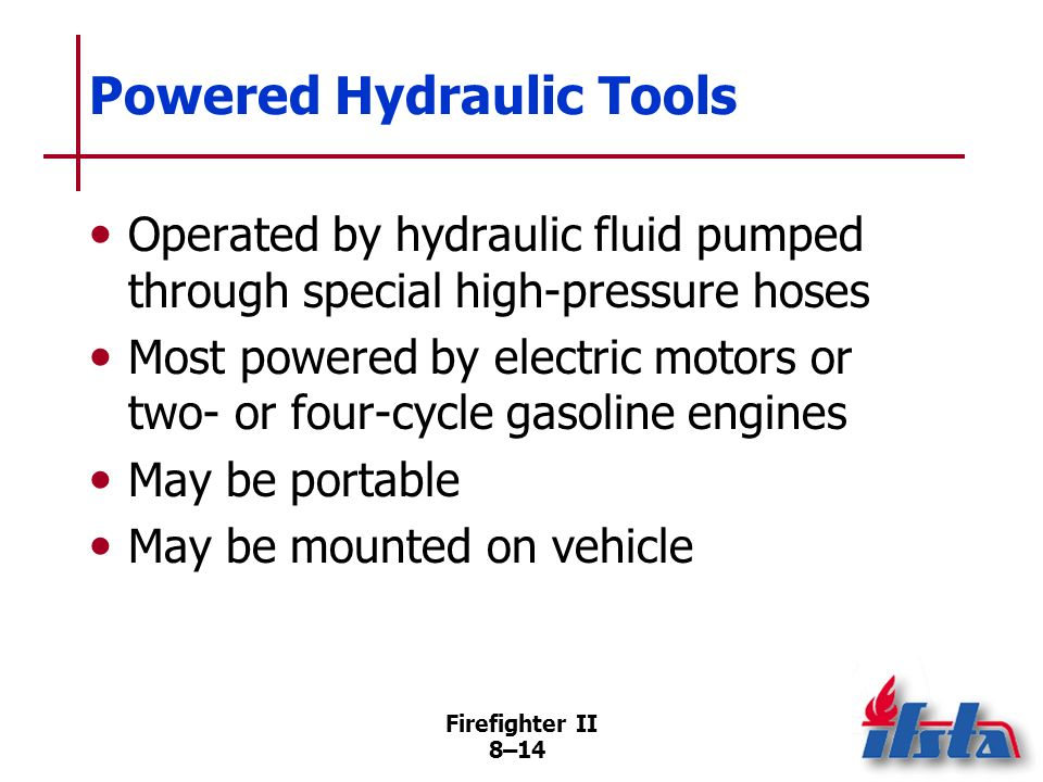 Powered Hydraulic Tools
