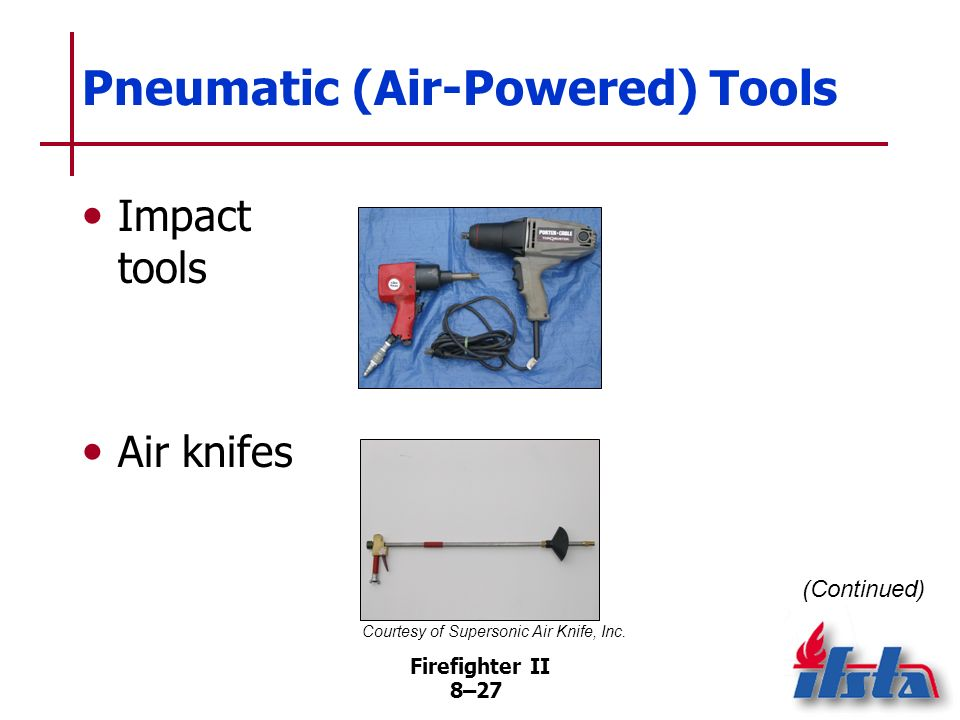Pneumatic (Air-Powered) Tools