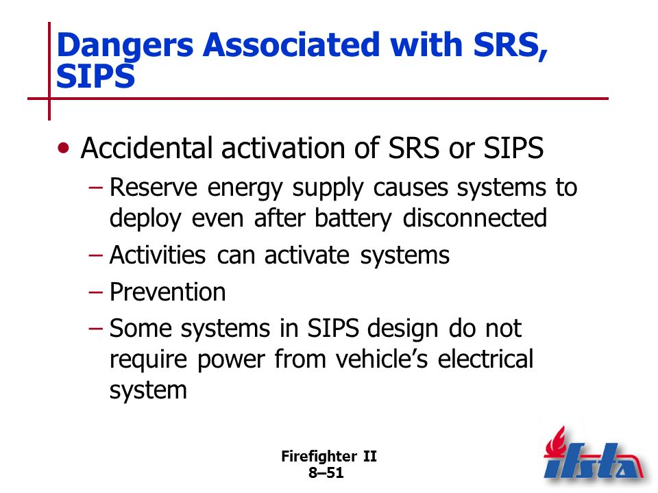 Dangers Associated with SRS, SIPS