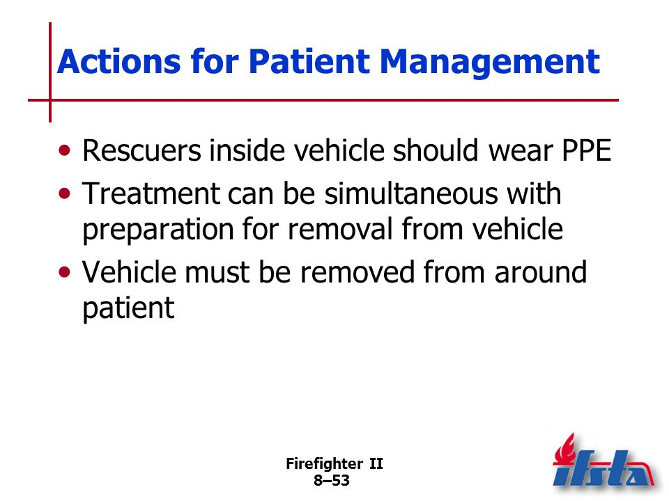 Actions for Patient Management