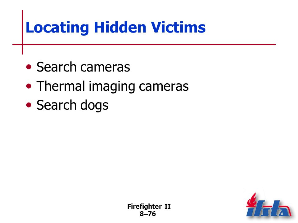 Locating Hidden Victims