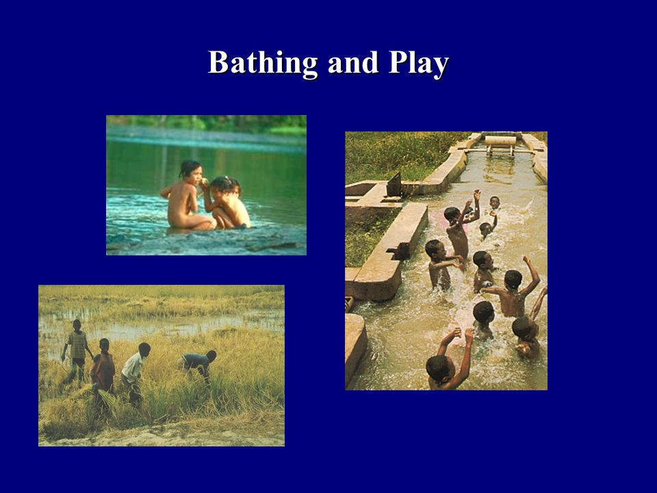 Bathing and Play