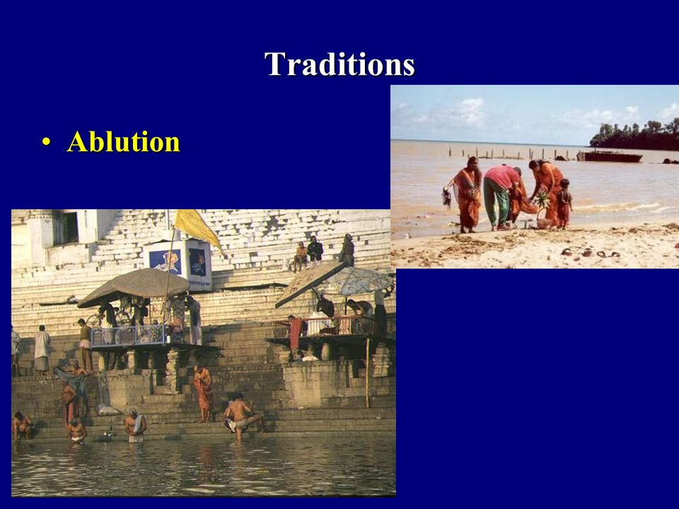 Traditions Ablution