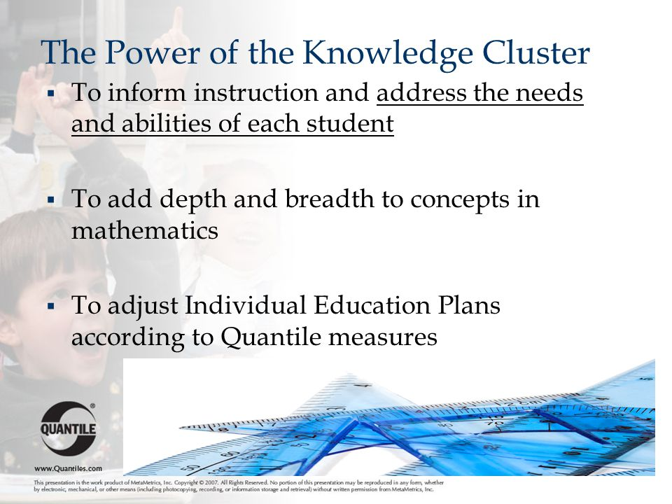 The Power of the Knowledge Cluster