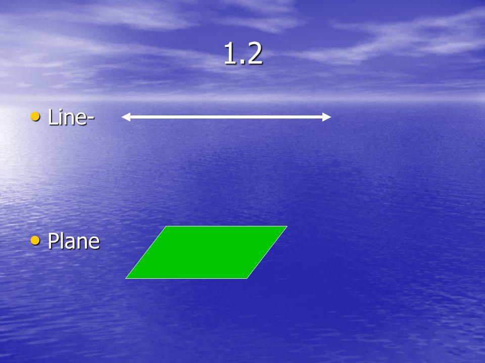 1.2 Line- Plane