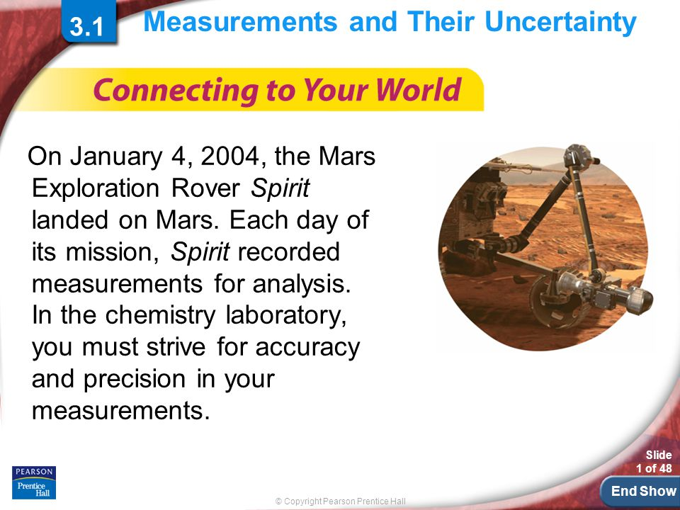 Measurements and Their Uncertainty
