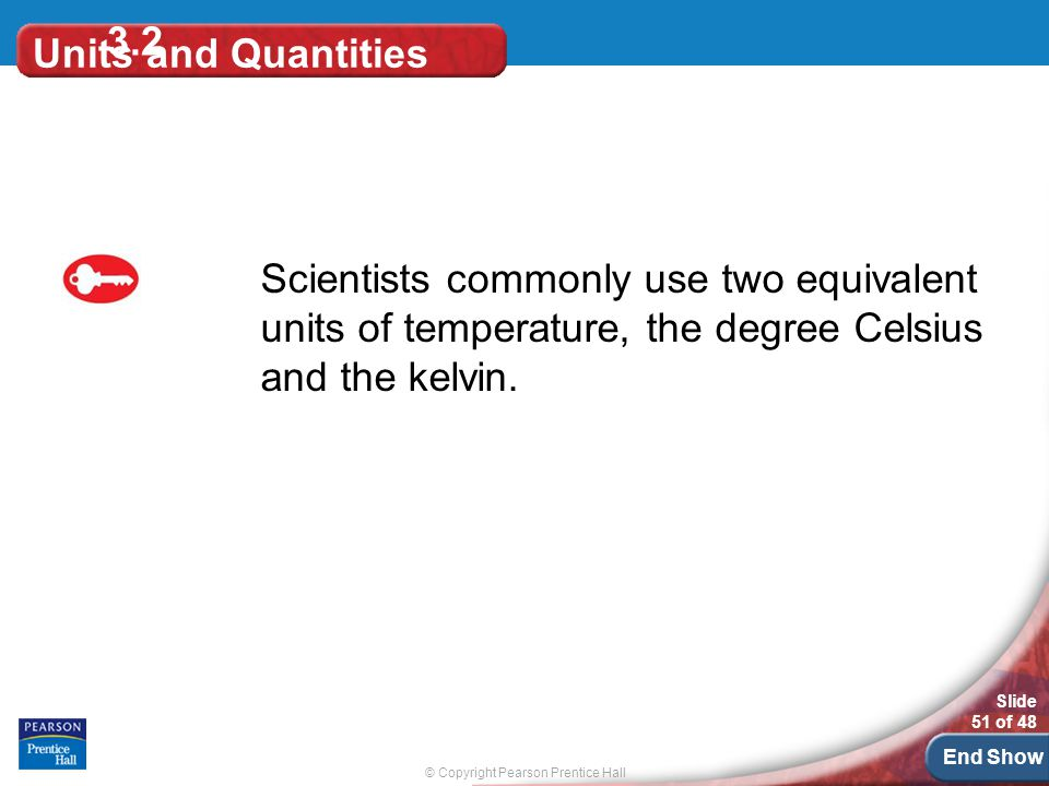 3.2 Units and Quantities.