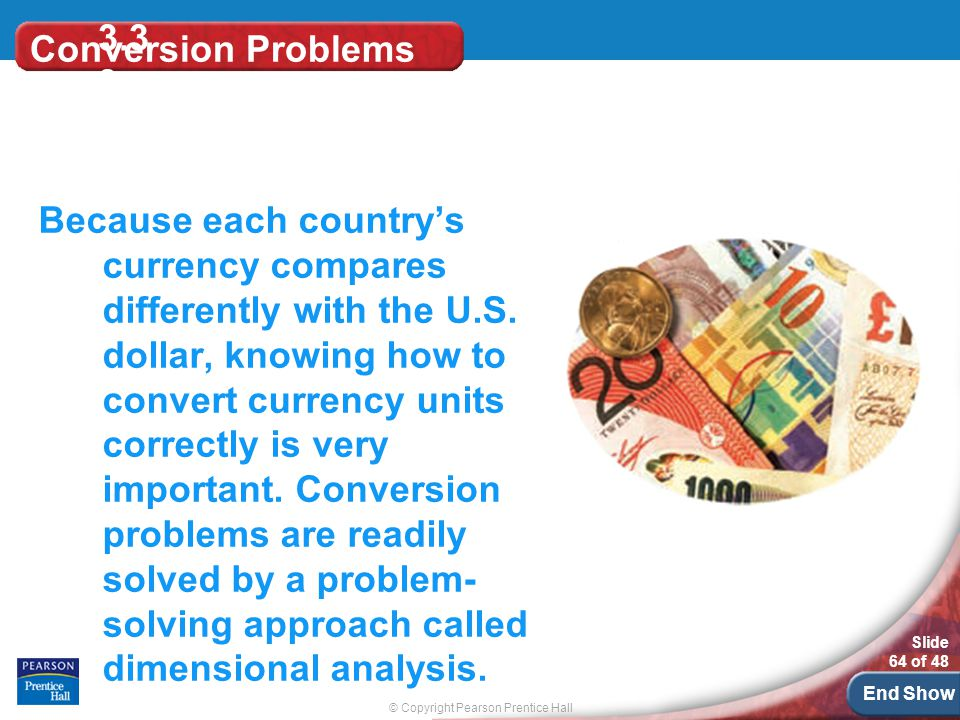 3.33 Conversion Problems.
