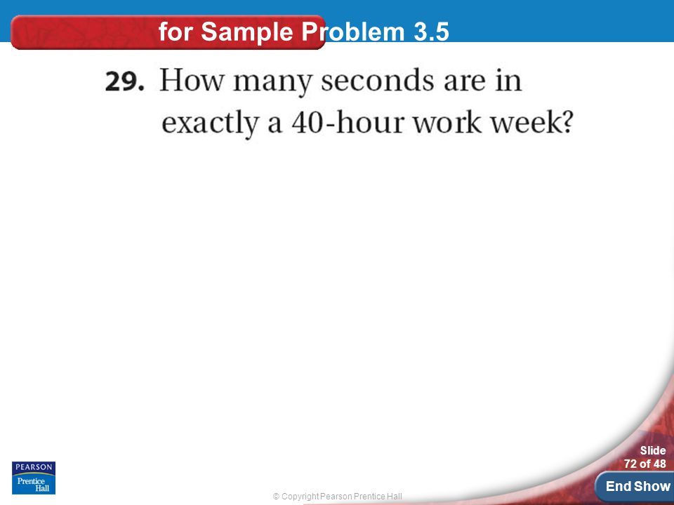 for Sample Problem 3.5