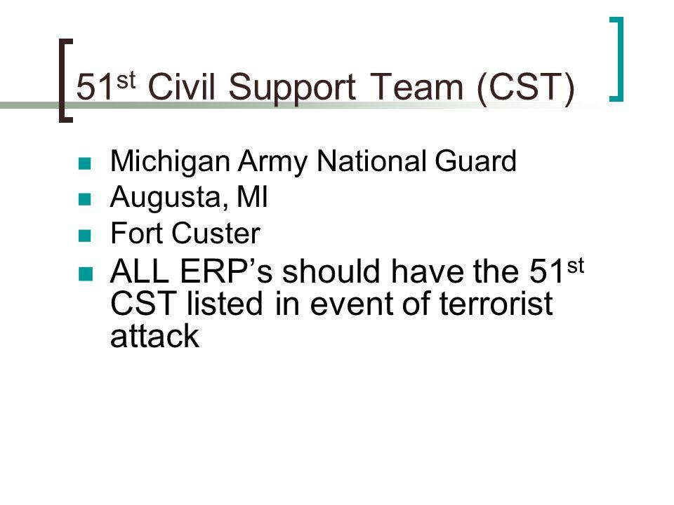 51st Civil Support Team (CST)